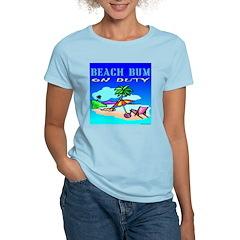 Beach Bum Women's Pink T-Shirt