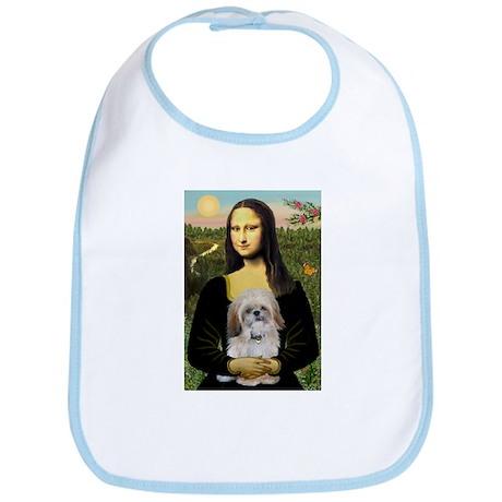 Mona Lisa/Shih Tzu (P) Bib