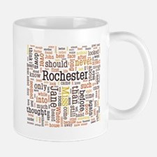 Jane Eyre Word Cloud Mugs