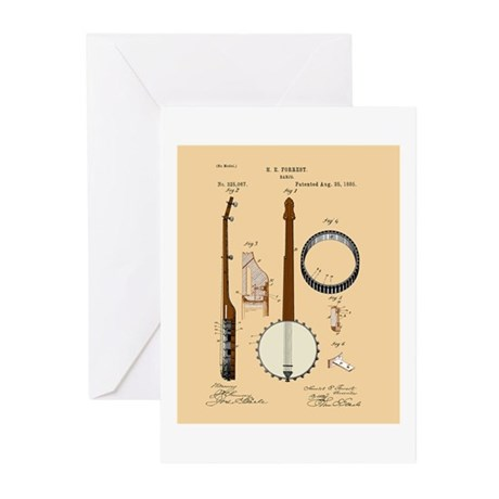 Oldtime Banjo Greeting Cards (Pk of 20)
