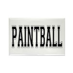 Paintball Rectangle Magnet (10 pack)