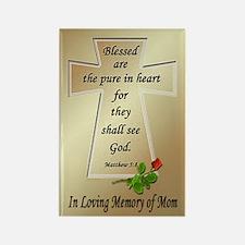 In Loving Memory of Mom Rectangle Magnet
