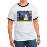 Starry /Scotty pair Ringer T