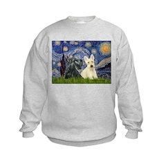 Starry /Scotty pair Sweatshirt