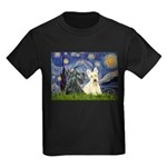 Starry /Scotty pair Kids Dark T-Shirt