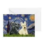 Starry /Scotty pair Greeting Card