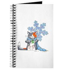 Snowflake Kitten Journal