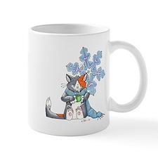 Snowflake Kitten Mug