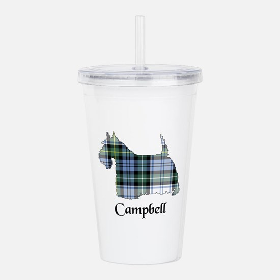 Terrier-Campbell dress Acrylic Double-wall Tumbler