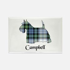 Terrier-Campbell dress Rectangle Magnet