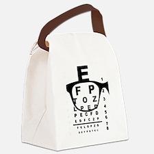 Cute Optical Canvas Lunch Bag