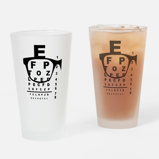 Funny Optician Drinking Glass