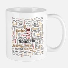 Oliver Twist Word Cloud Mugs