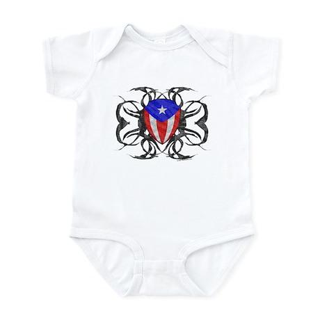 Puerto Rico Tribal Infant Bodysuit