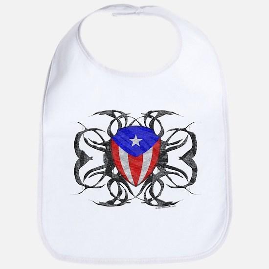 Puerto Rico Tribal Bib