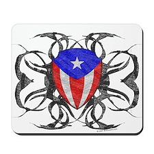 Puerto Rico Tribal Mousepad