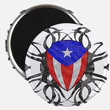 Puerto Rico Tribal Magnet