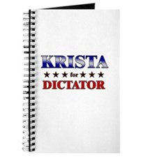 KRISTA for dictator Journal