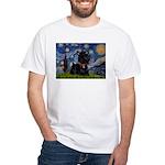 Starry / Scotty(bl) White T-Shirt