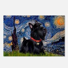 Starry / Scotty(bl) Postcards (Package of 8)
