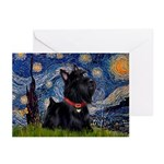 Starry / Scotty(bl) Greeting Cards (Pk of 10)