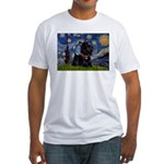 Starry / Scotty(bl) Fitted T-Shirt
