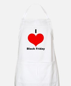 I Love Black Friday BBQ Apron