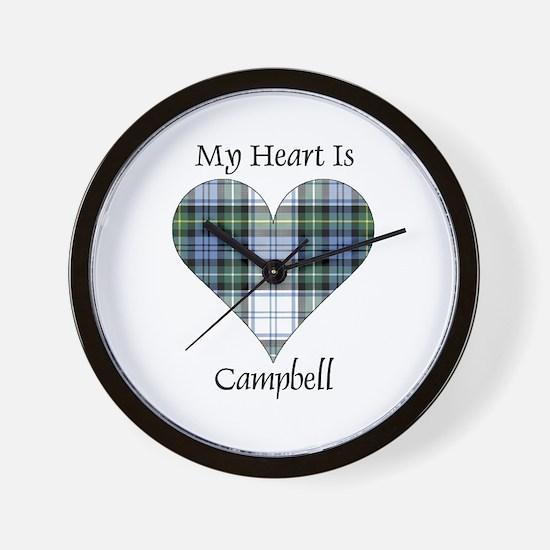 Heart-Campbell dress Wall Clock