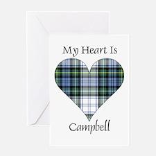 Heart-Campbell dress Greeting Card
