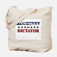 KOURTNEY for dictator Tote Bag
