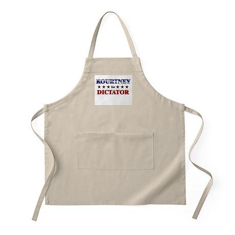 KOURTNEY for dictator BBQ Apron