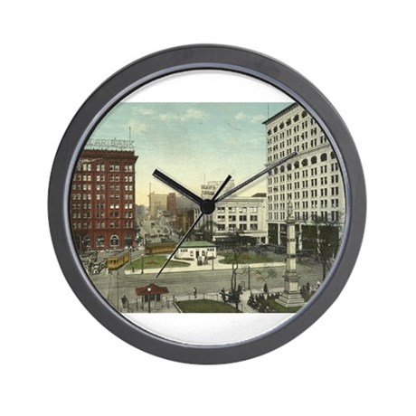 Downtown Youngstown Wall Clock