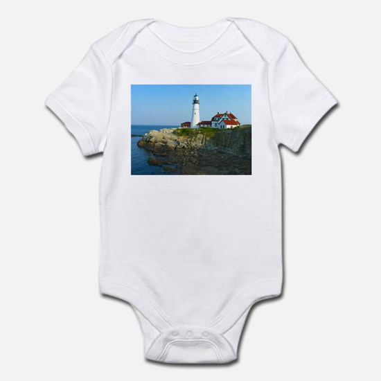 Portland Head Light Infant Bodysuit