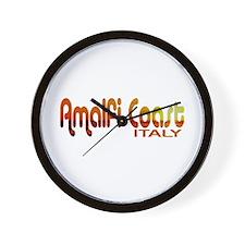 Amalfi Coast, Italy Wall Clock