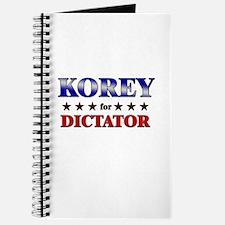 KOREY for dictator Journal