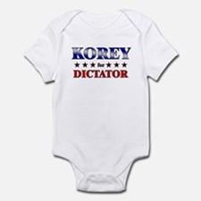 KOREY for dictator Infant Bodysuit