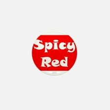 Spicy Red Logo Mini Button