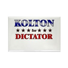 KOLTON for dictator Rectangle Magnet
