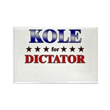 KOLE for dictator Rectangle Magnet