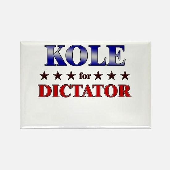 KOLE for dictator Rectangle Magnet
