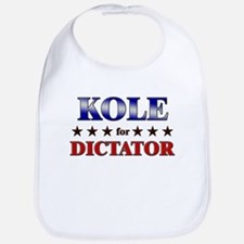 KOLE for dictator Bib