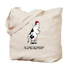 Two Front Teats Tote Bag