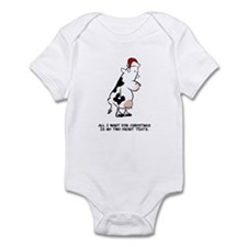 Two Front Teats Infant Bodysuit