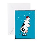 Two Front Teats Greeting Cards (Pk of 10)
