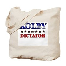 KOLBY for dictator Tote Bag
