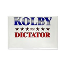 KOLBY for dictator Rectangle Magnet
