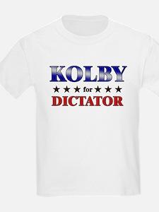 KOLBY for dictator T-Shirt