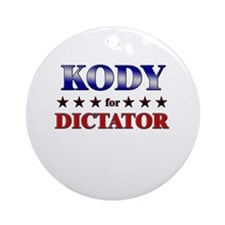 KODY for dictator Ornament (Round)
