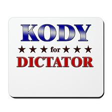 KODY for dictator Mousepad