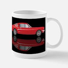Very Fast Red Car Mugs